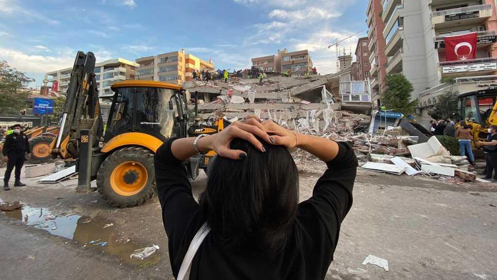 Un puissant séisme secoue la Turquie et la Grèce, au moins 26 morts et  plus de 800 blessés