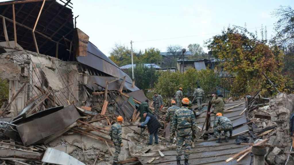 Nagorny Karabakh : Erevan affirme que la bataille pour la ville clé de Choucha se poursuit