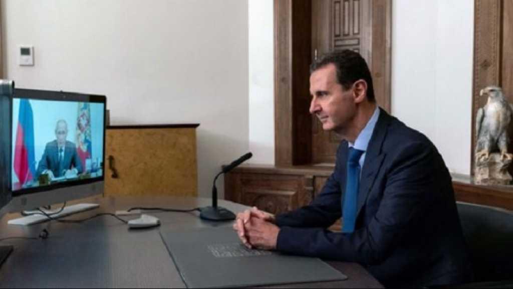 Entretien Poutine-Assad: le retour des réfugiés en Syrie, une priorité