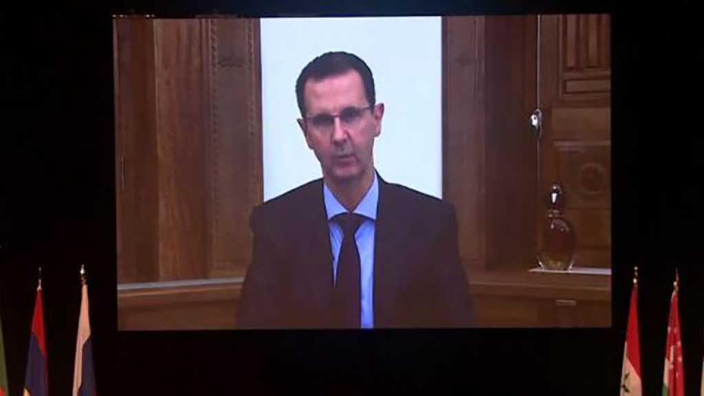 Assad: Certains pays ont transformé la question humanitaire des réfugiés syriens en une carte politique de marchandage