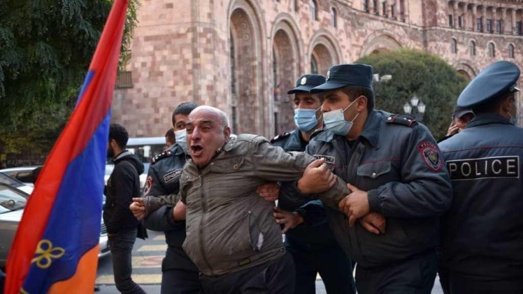 Arménie: l'opposition tente de mobiliser contre l'accord sur le Karabakh