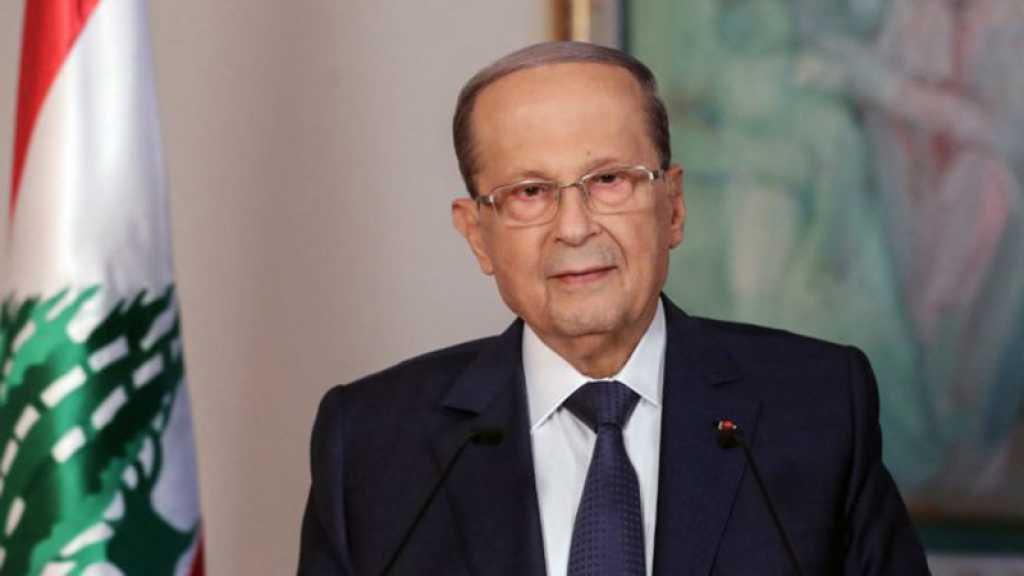Liban: Le président Michel Aoun réaffirme son adhésion à l'initiative française