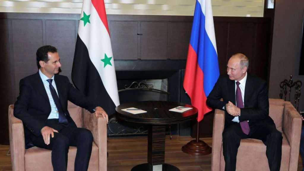 La Russie va allouer un milliard de dollars à la reconstruction de la Syrie