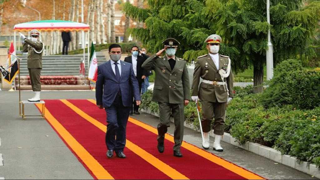 L'Iran et l'Irak finalisent une charte de coopération bilatérale en matière de défense