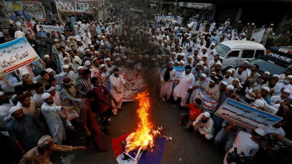 Pakistan: Le gouvernement a approuvé le boycott des produits français