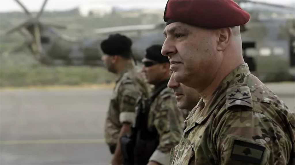 «L'ennemi israélien n'arrête pas de menacer d'attaquer notre territoire», dit le commandant de l'armée libanaise