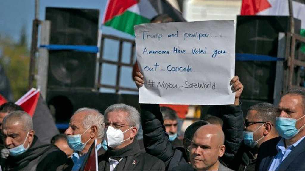 Des américano-palestiniens dénoncent la visite de Pompeo d'une colonie israélienne