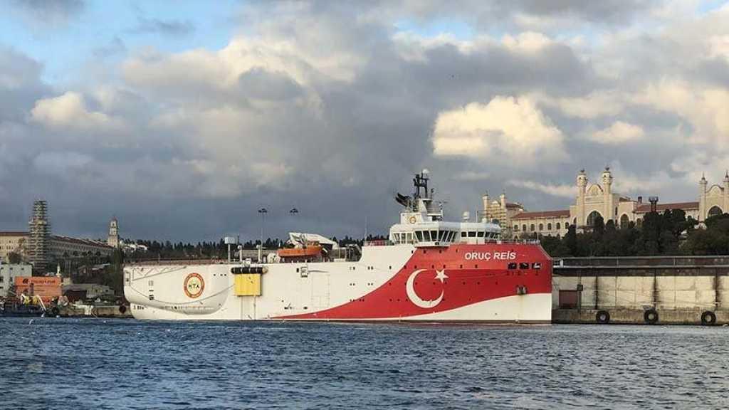 Un navire turc au cœur des tensions en Méditerranée rentre au port