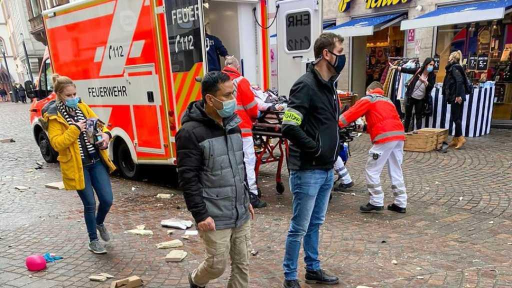 Scène d'horreur en Allemagne: Une voiture percute des piétons faisant au moins deux morts dont un bébé