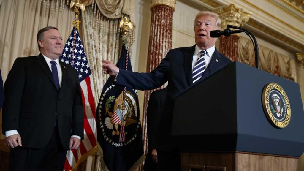 Sanctions contre l'Iran: Trump aurait donné «carte blanche» à Pompeo