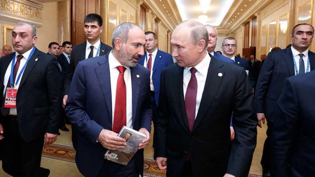 Karabakh: Poutine apporte son soutien au premier ministre arménien