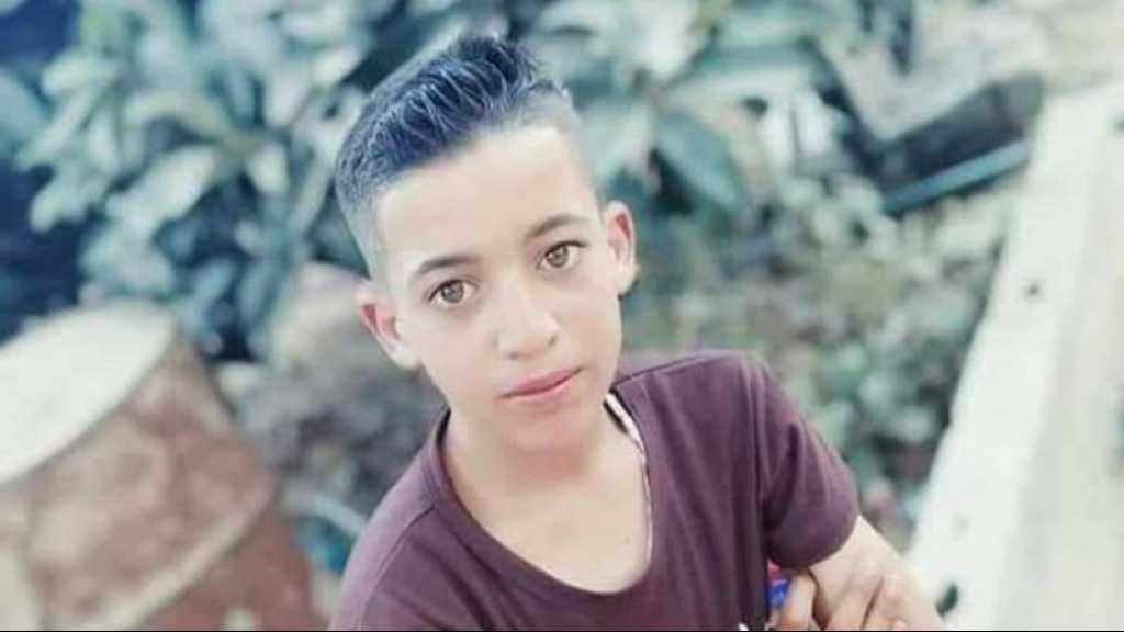 Un adolescent palestinien tué par l'armée de l'occupation israélienne