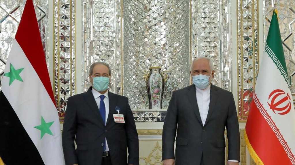 Le chef de la diplomatie syrienne en Iran pour sa première visite à l'étranger