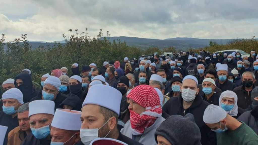 Protestation au Golan: 20 Syriens blessés par les forces de l'occupation israélienne