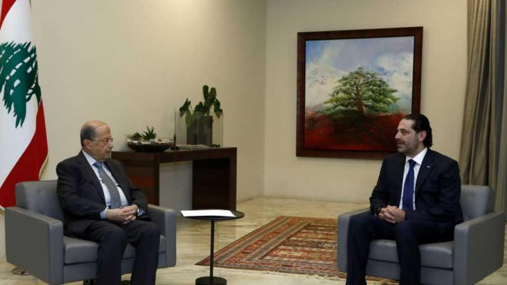 Liban: Hariri a remis une proposition de gouvernement à Aoun
