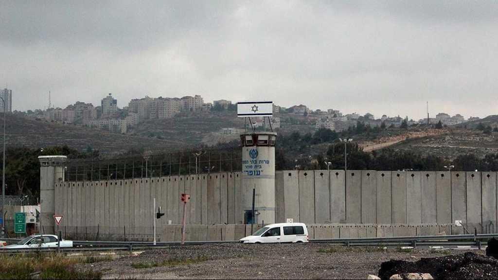 Geôles israéliennes: le nombre de prisonniers infectés par le virus passe à 138