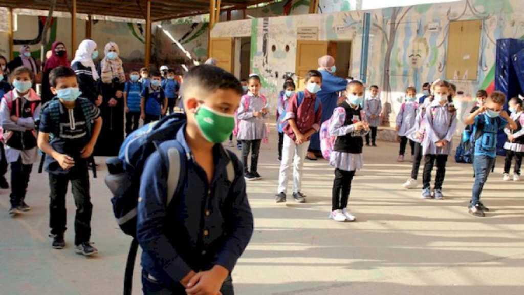 L'armée israélienne tire du gaz lacrymogène à l'intérieur d'une école