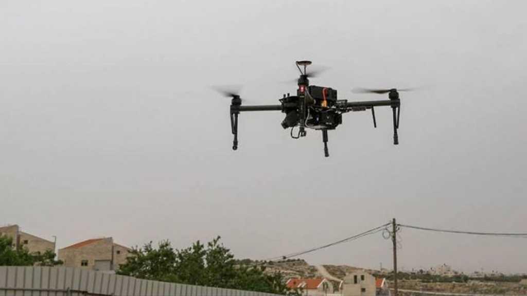 Des jeunes palestiniens abattent un drone israélien au nord de Qalqilya