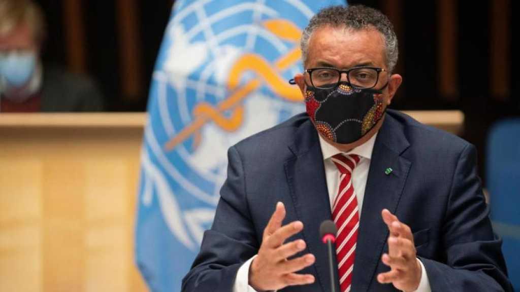 Coronavirus: «Ne gaspillons pas les sacrifices de 2020!», lance le chef de l'OMS
