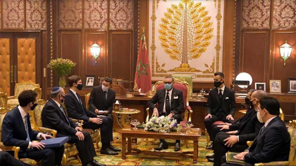 Une délégation officielle marocaine se rend en «Israël» ce lundi
