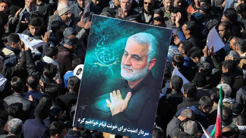 Les assassins de Soleimani «nulle part en sécurité», avertit l'Iran