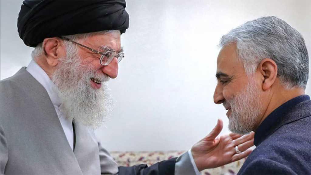 Sayed Khamenei: Soleimani, l'Homme du terrain, le héros de l'Iran