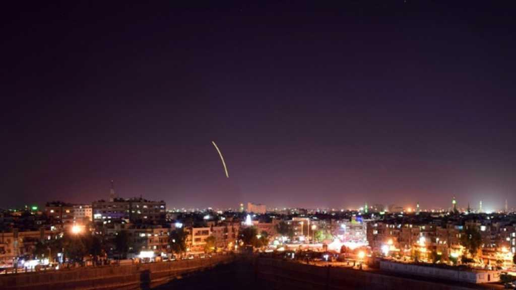 Syrie: la défense antiaérienne repousse une agression israélienne dans le sud