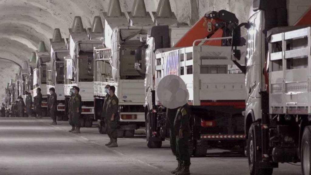 Les GRI dévoilent une nouvelle base de missiles souterraine le long de la côte du Golfe