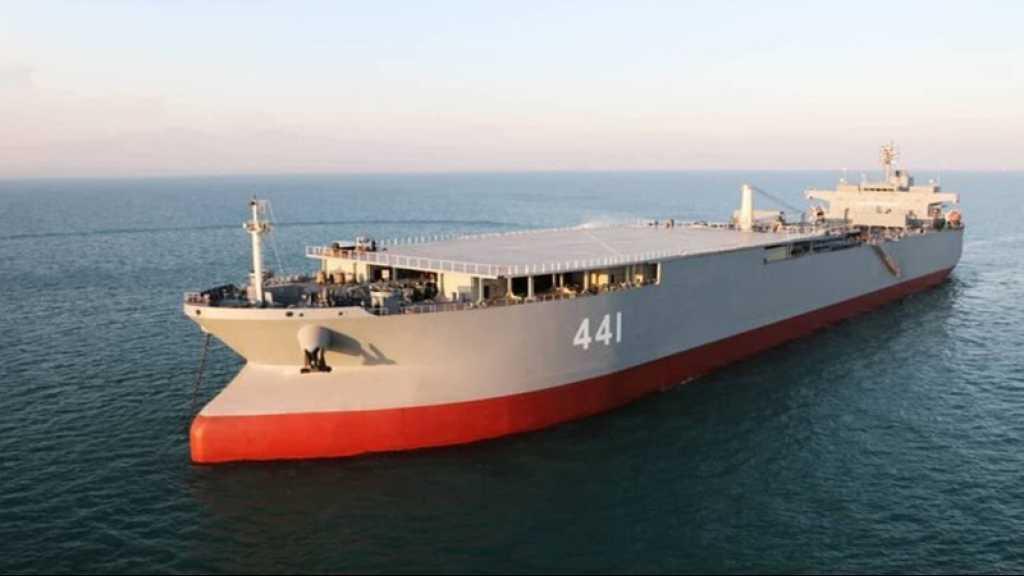 La Marine iranienne a dévoilé son géant navire océanique