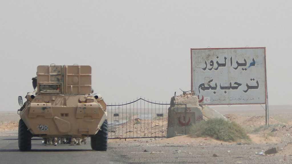 Damas dévoile la simultanéité de l'attaque israélienne à Deir Ezzor avec une attaque des FDS