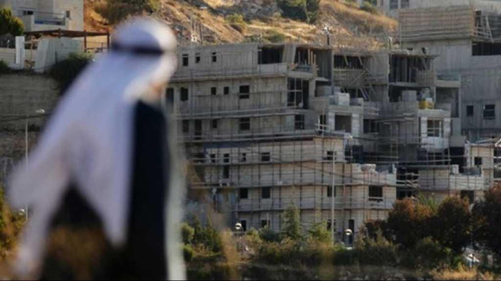 «Israël» autorise la construction de près de 800 unités coloniales en Cisjordanie occupée