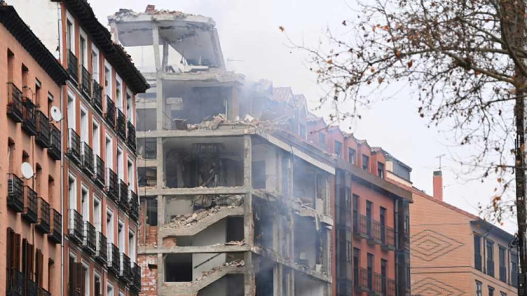Espagne: Au moins 3 morts après une explosion due au gaz  dans un immeuble de Madrid
