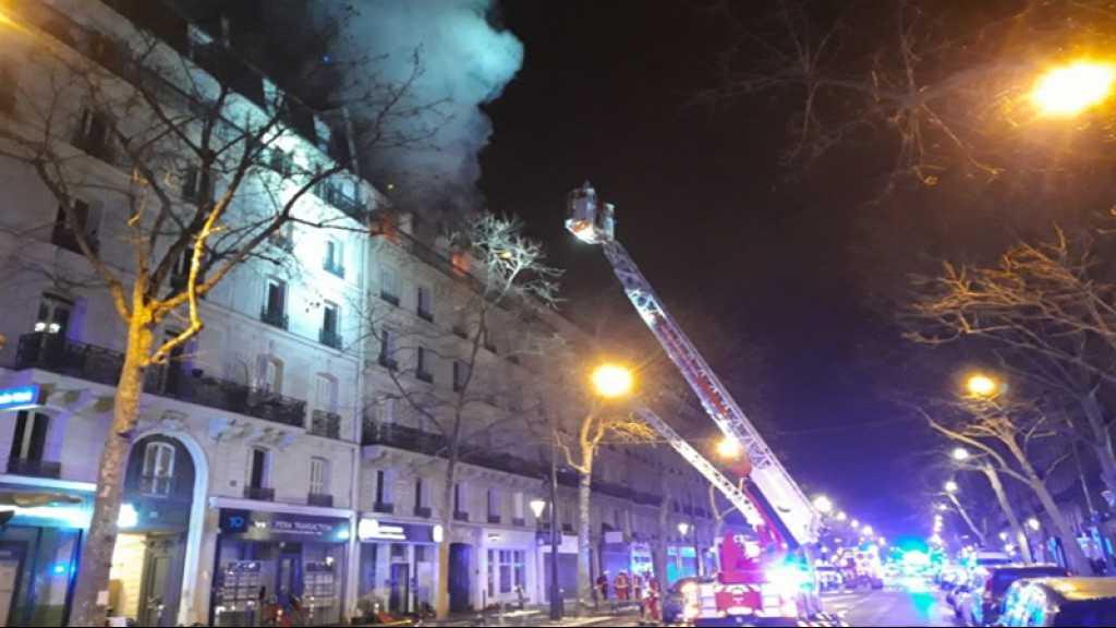 Un incendie à Paris fait deux morts et quatre blessés