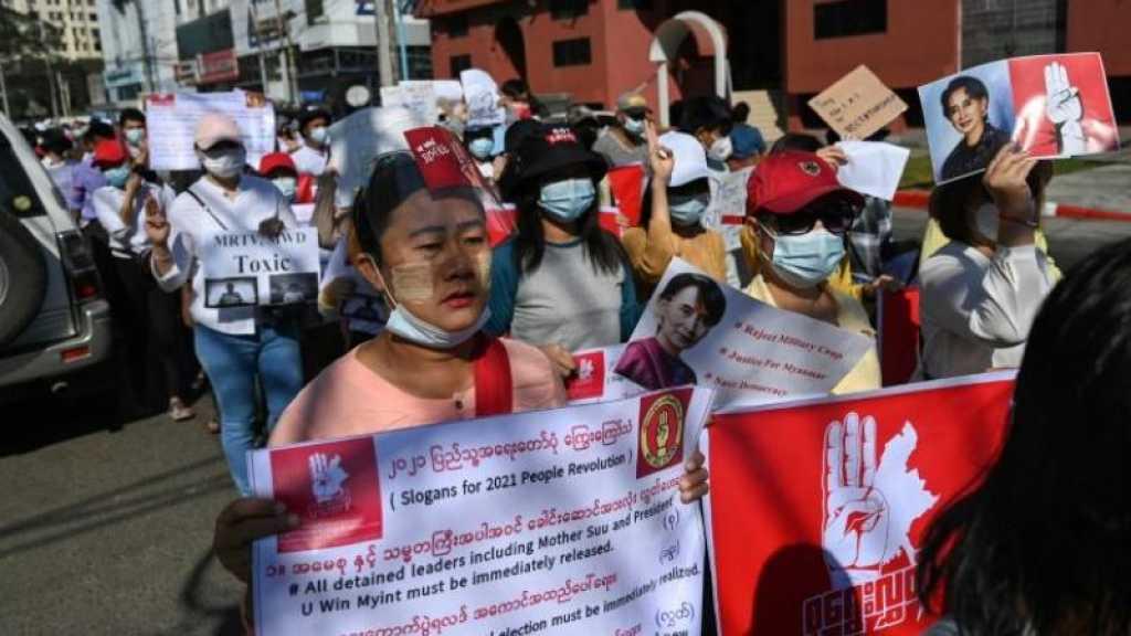 Birmanie: la mobilisation se poursuit contre le coup d'Etat, Biden annonce des sanctions