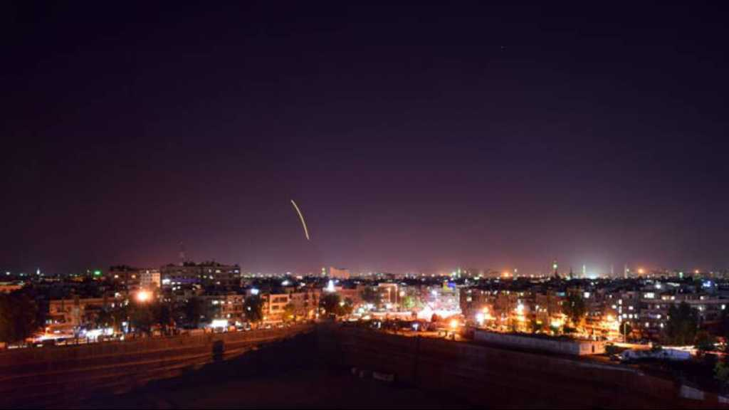 La Syrie intercepte des missiles israéliens au-dessus de Damas