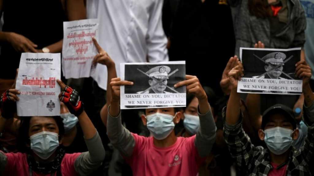 Birmanie: la répression fait baisser le nombre de manifestants