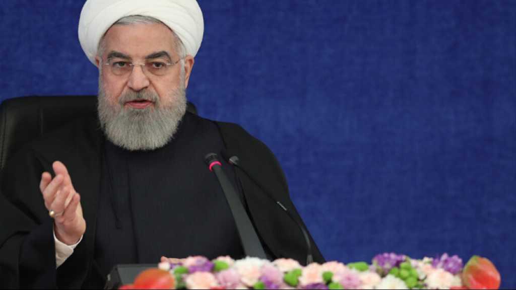 L'Iran ne cherche pas à se doter de l'arme nucléaire, réitère Rohani