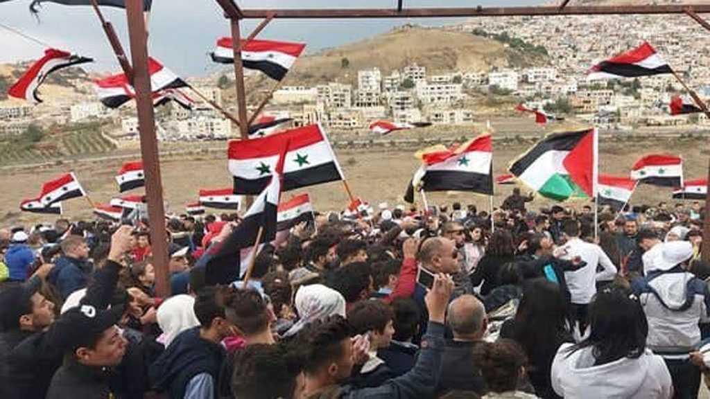 Libération des deux détenus syriens des geôles de l'occupant israélien