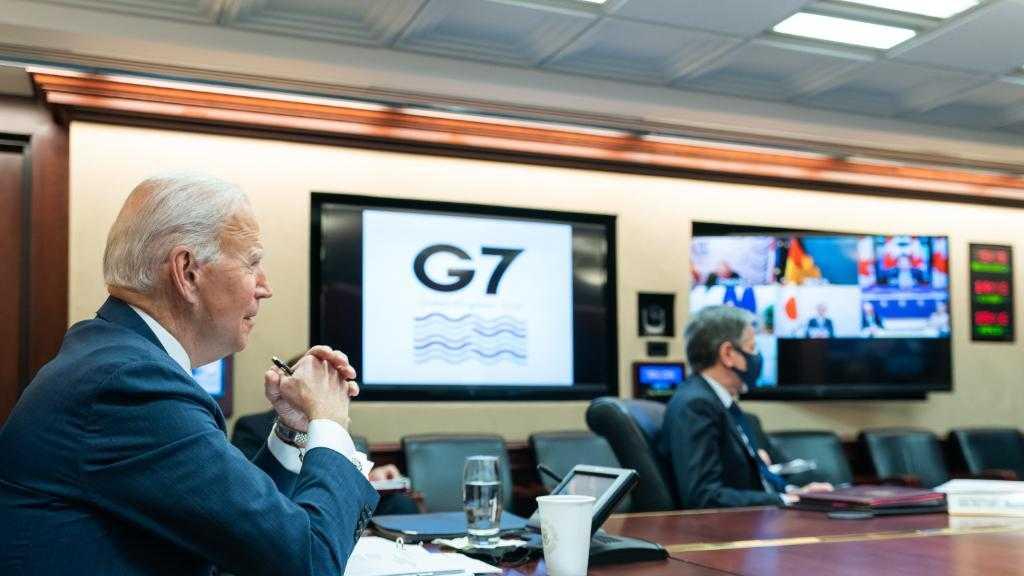 Joe Biden marque sa méfiance face à la Chine, l'Iran et la Russie