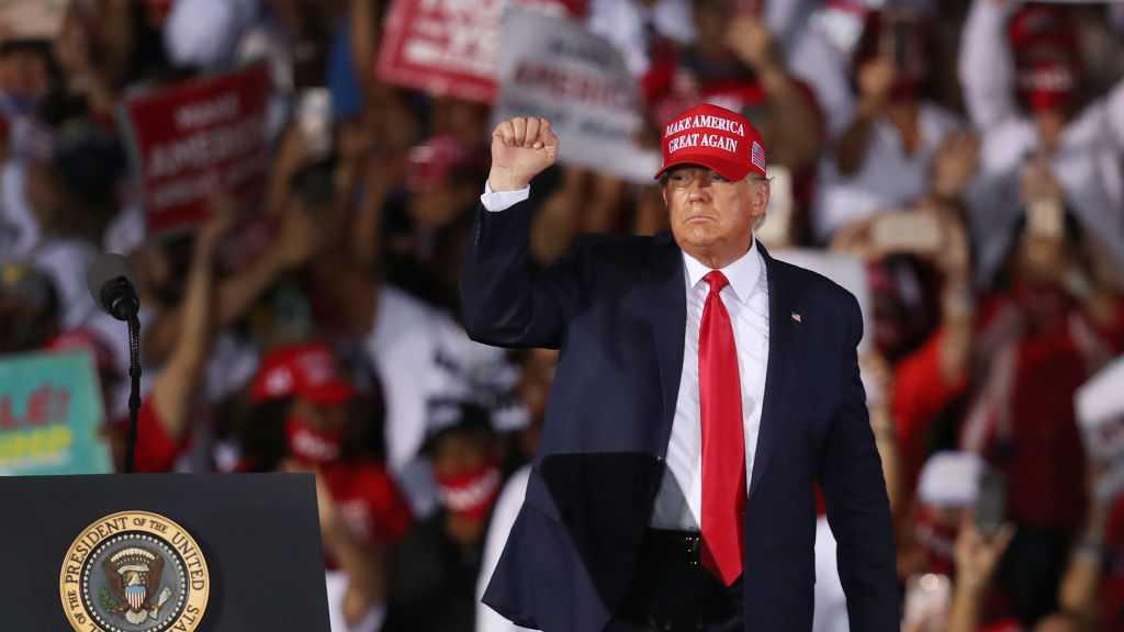USA: selon un sondage, 46% des partisans du camp républicain pourraient rejoindre Trump
