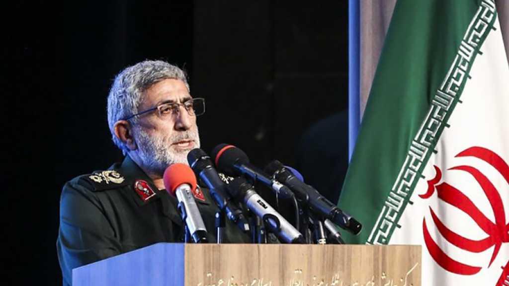 Qaani: Les USA ne comprennent que le langage de la force