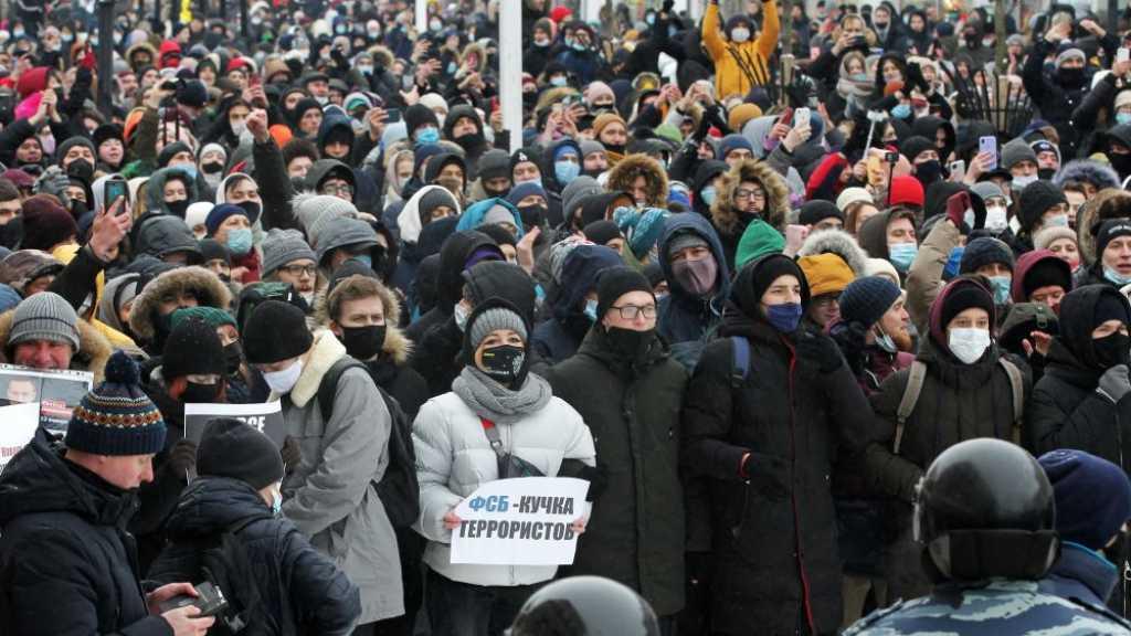 La Russie durcit les sanctions après les manifestations pro-Navalny