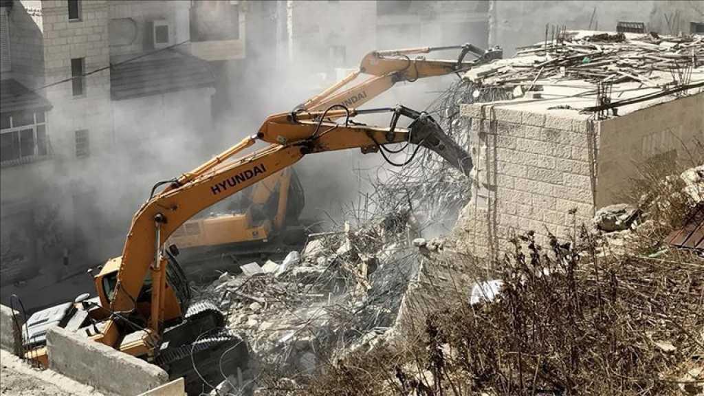 L'Onu demande à «Israël» de cesser les démolitions dans la vallée du Jourdain