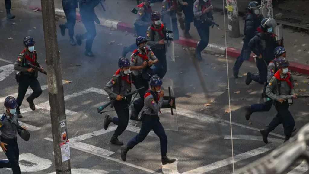 Birmanie: des balles en caoutchouc tirées contre les manifestants à Rangoun