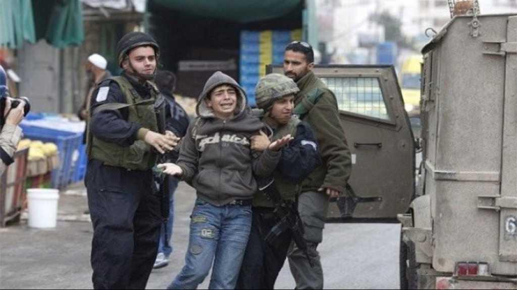 Cisjordanie occupée: Les forces israéliennes arrêtent cinq enfants palestiniens