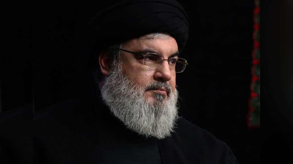 Discours de sayed Nasrallah jeudi le 18 mars à 20:30 (heure locale)