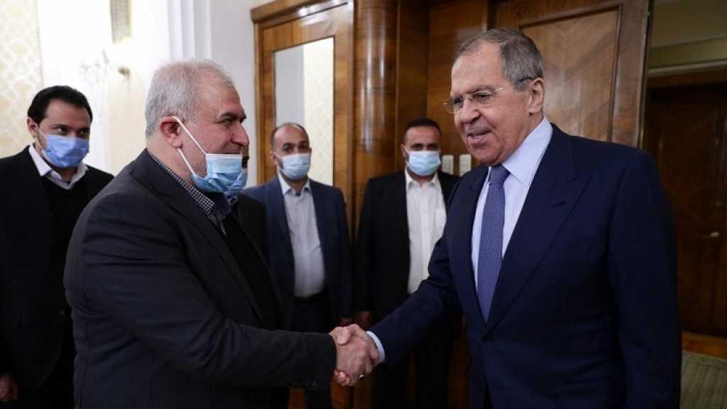 Délégation du Hezbollah en Russie: Lavrov loue le «rôle positif et décisif» du parti, «un saut qualitatif» selon Raad