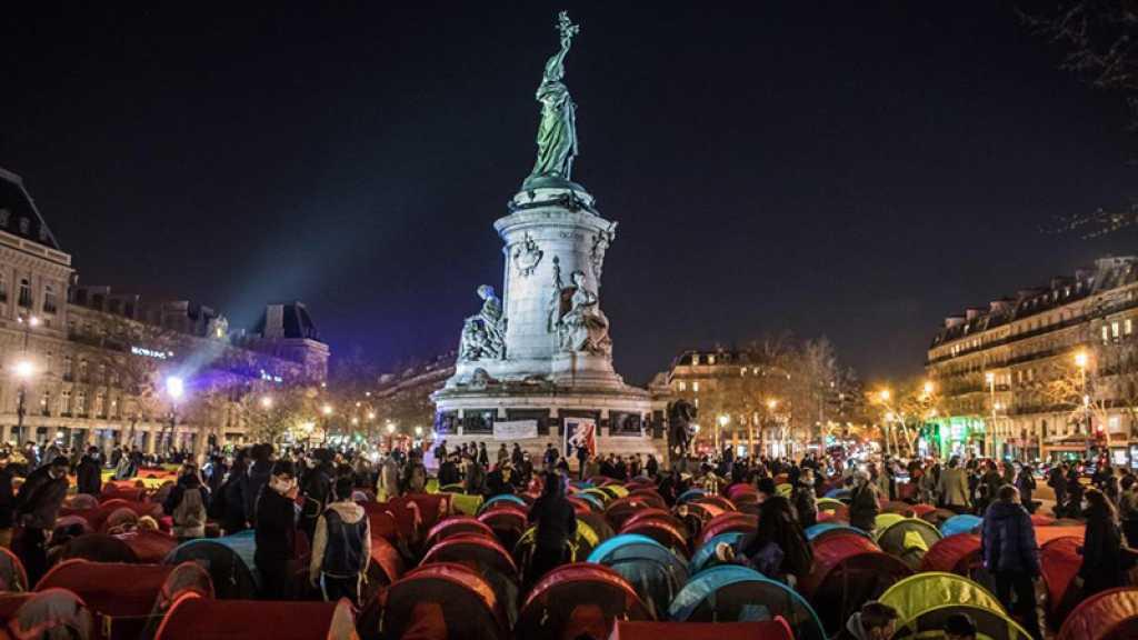 A Paris, la place de la République redevient un camp pour exilés