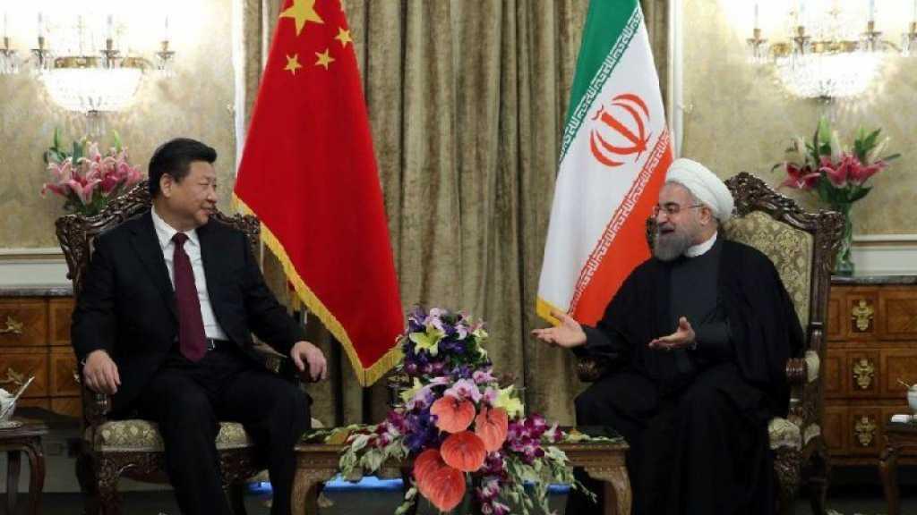 Iran et Chine vont signer un accord de coopération stratégique de 25 ans