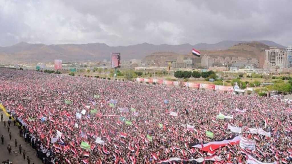 Manifestation monstre au Yémen pour la journée de la résistance
